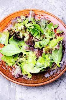 Salade mixte fraîche
