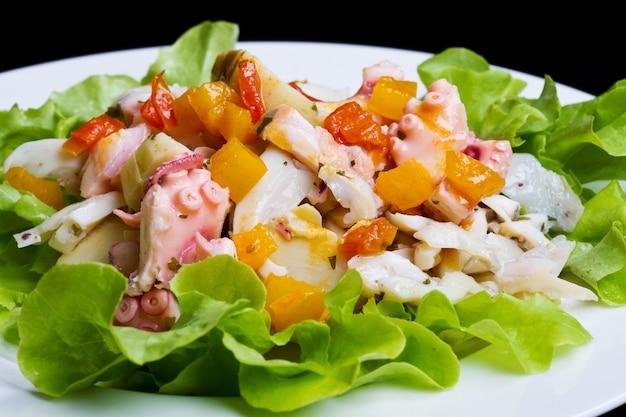 Salade de poulpe aux artichauts