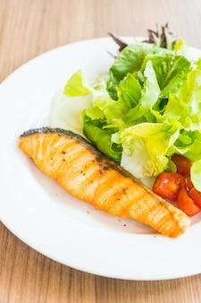 Salade de saumon