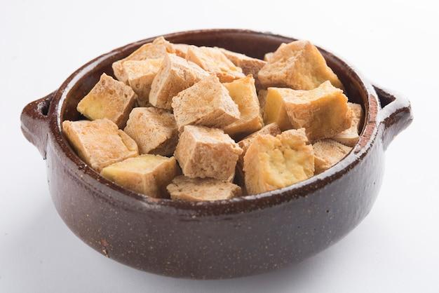 Salade de tofu et de quinoa