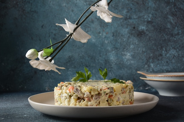 Salade traditionnelle russe