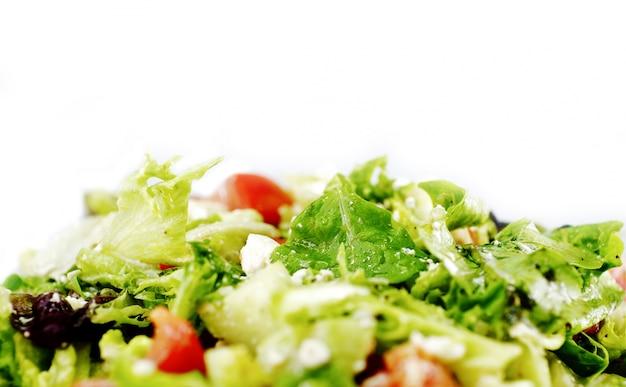 Salade de verts frais