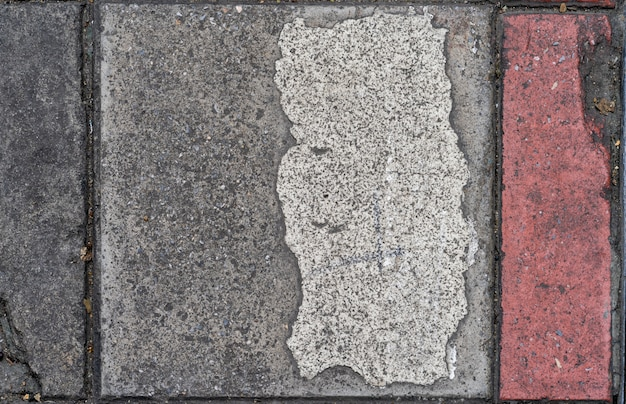 Sale béton sentier bloc fond de texture de sol