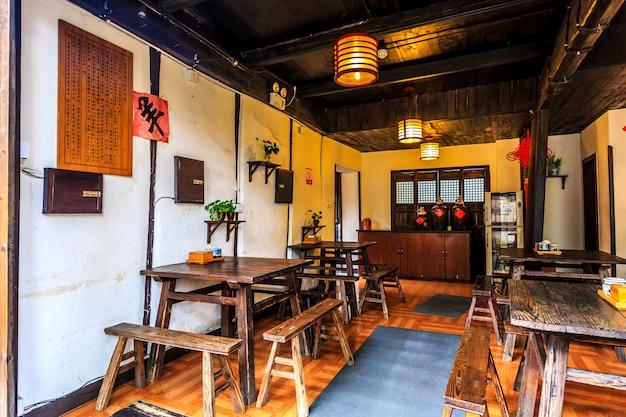 Salle ancienne de la chine