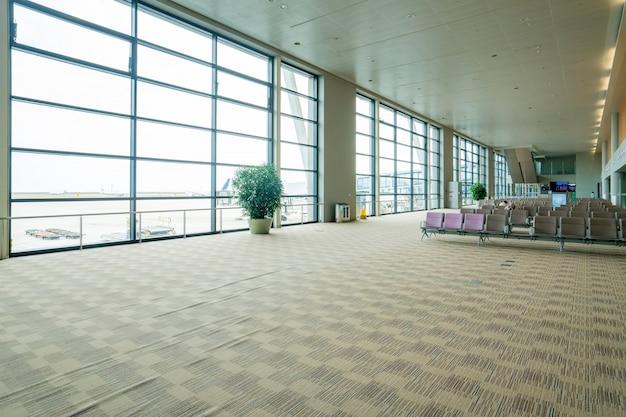 Salle d'attente de l'aéroport