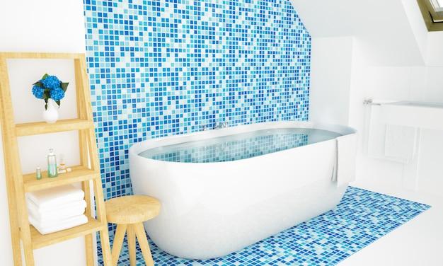 Salle de bain chaleureuse minimale