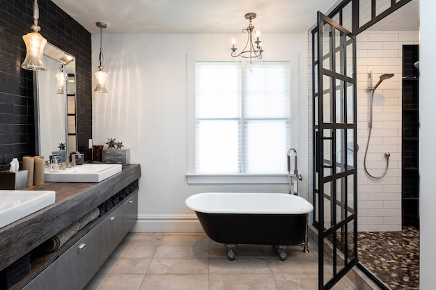 Salle de bain dans la maison