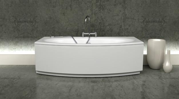 Salle de bains moderne 3d