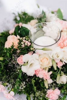 Salle de banquet pour mariages, décoration de salle de banquet, décor d'ambiance
