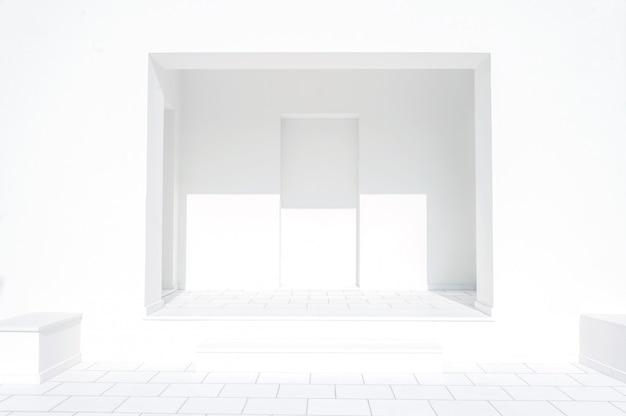 Salle blanche vide