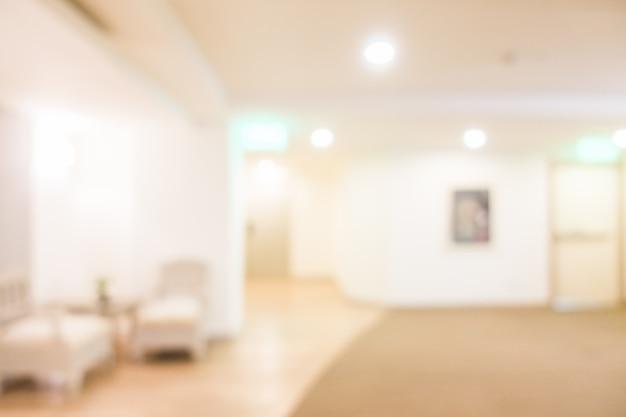 Salle commune brouillé