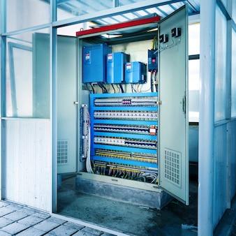 Salle de contrôle des machines