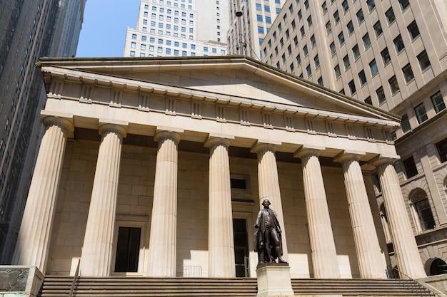 Salle fédérale de new york memorial george washingto