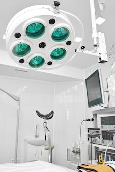 Salle de gynécologie à l'hôpital