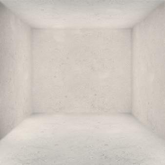 Salle intérieure sombre terrain vide