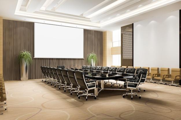 Salle de réunion séminaire