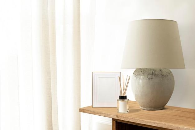 Salon blanc minimal, design esthétique