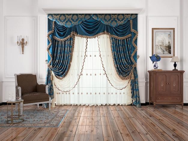 Salon intérieur avec décoration
