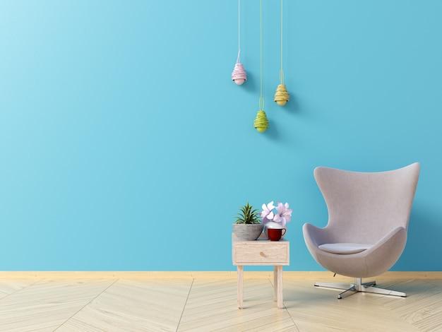 Salon intérieur avec fauteuil
