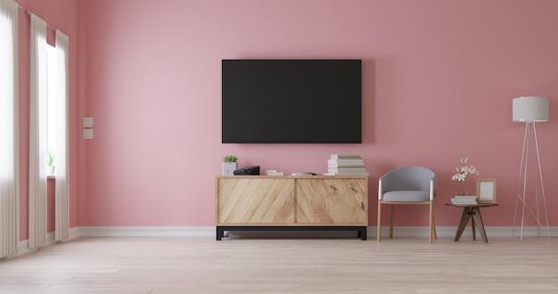 Salon intérieur moderne. rendu 3d