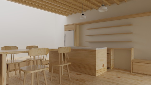 Salon intérieur de style moderne. design d'intérieur. rendu 3d.