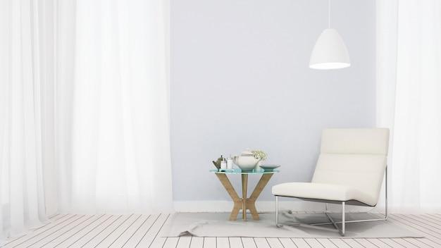 Salon à la maison ou appartement