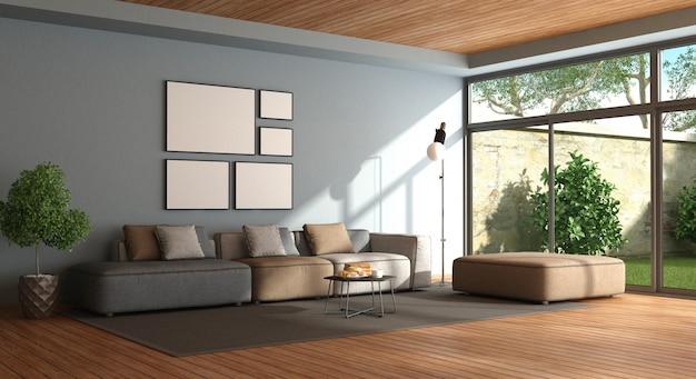 Salon minimaliste