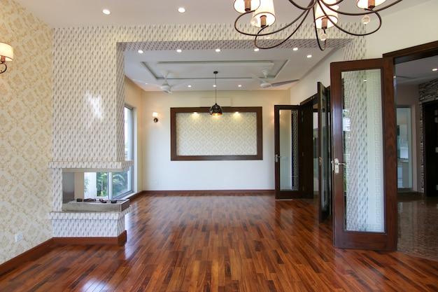 Salon moderne et vide