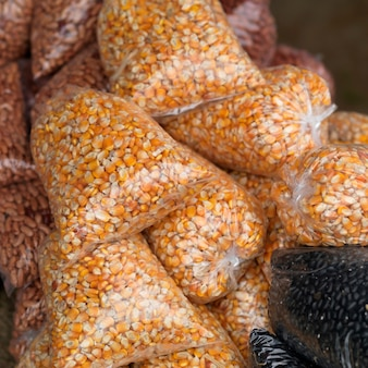 San ignacio, sacs de haricots