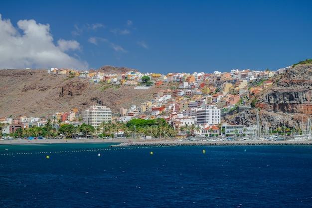 San sebastian de la gomera, îles canaries, espagne