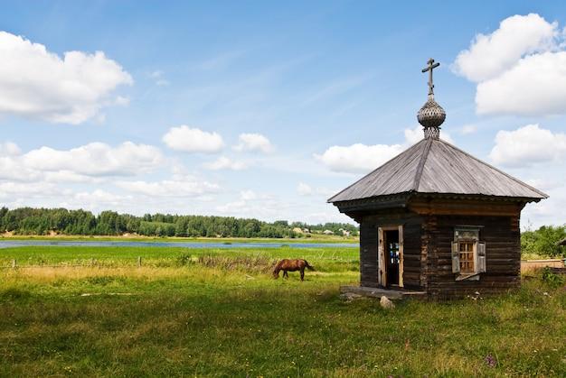 Sanctuaire en bois