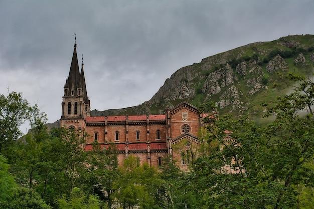 Sanctuaire de covadonga espagne