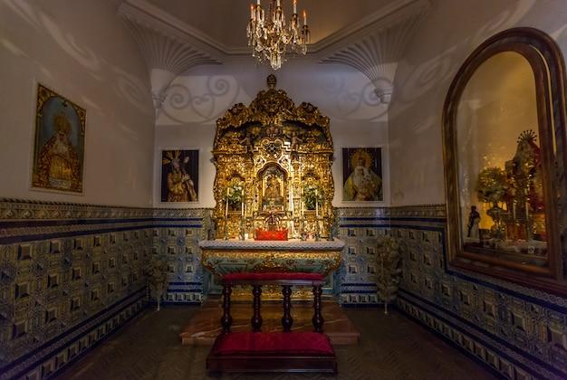 Sanctuaire dans l'arène de corrida