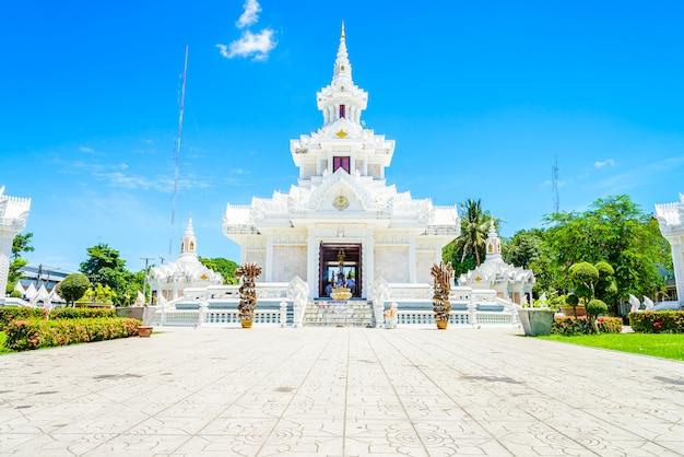 Le sanctuaire des piliers de la ville nakhon si thammarat