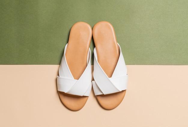 Sandales en cuir femme et femme