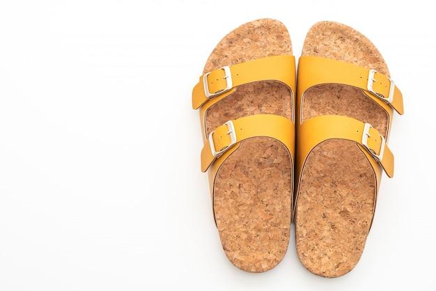 Sandales en cuir pour hommes et femmes (unisexe)