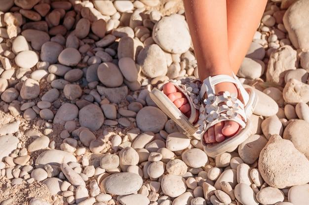 Sandales d'été pour enfants.