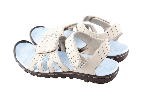 Sandales de sport isolés