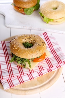 Sandwich au bagel