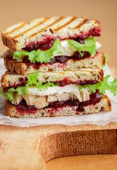 Sandwich au brie ou au camembert