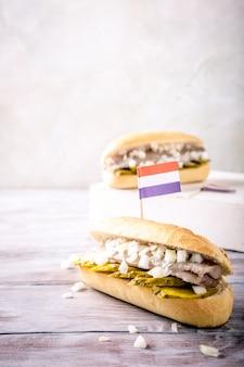Sandwich au hareng
