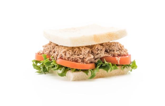 Sandwich au thon sur blanc
