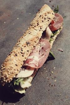 Sandwich baguette