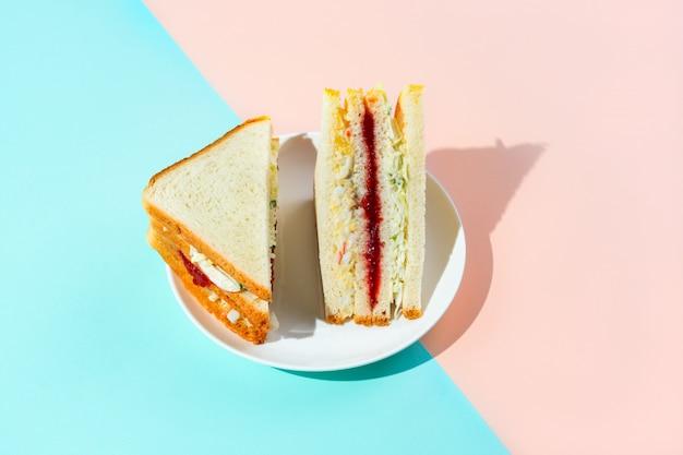 Sandwich coréen à l'encre