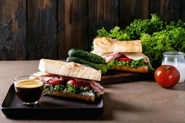 Sandwich fait maison