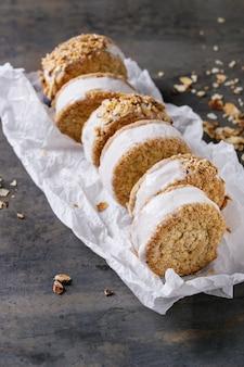 Sandwichs à la crème dans les cookies