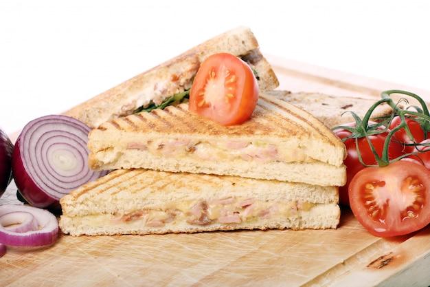 Sandwichs frais et savoureux