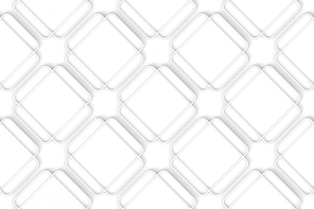 Sans soudure rayé rond motif de mur carré.