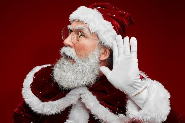 Santa cant hear you
