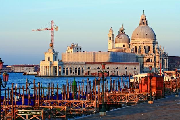 Santa maria della salute grand canal venise italie